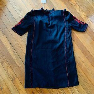 Zara Dresses - ZARA TRAFALUC Embroidered Tunic Dress